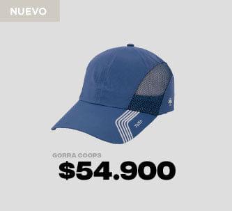 Gorra beisbolera azul Coops